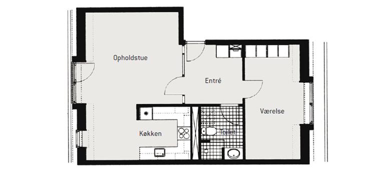 77m2 lejlighed på Østerbro - KBH-Bolig.dk - Gratis Boligportal