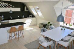 Lys lejlighed m/køkkenalrum og elevator på indre Østerbro