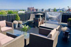 Fantastisk penthouse med adgang til privat tagterrasse