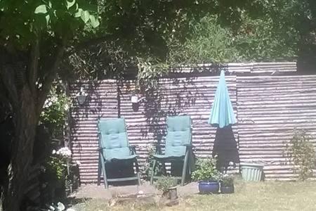 Krog i haven